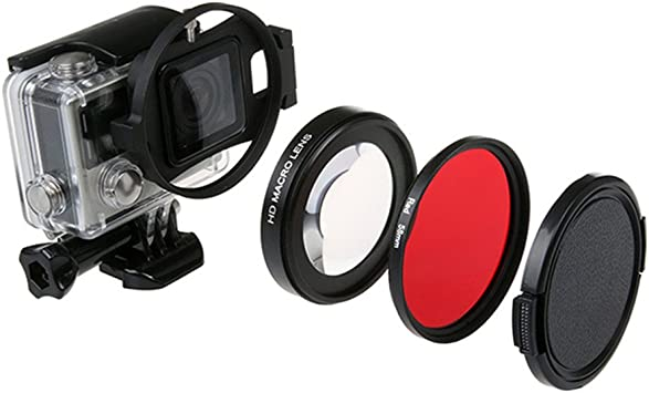 Protective Camera Lens Cap Cover and Housing Case Cover GoPro HERO 3+//HERO 4 DT