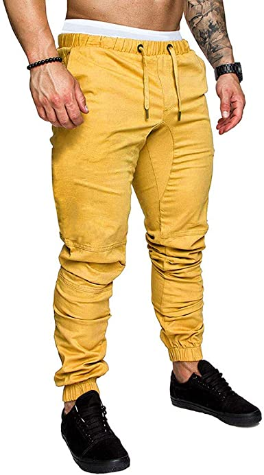 Overdose Pantalones De Chándal para Hombre Casual Al Aire Libre ...