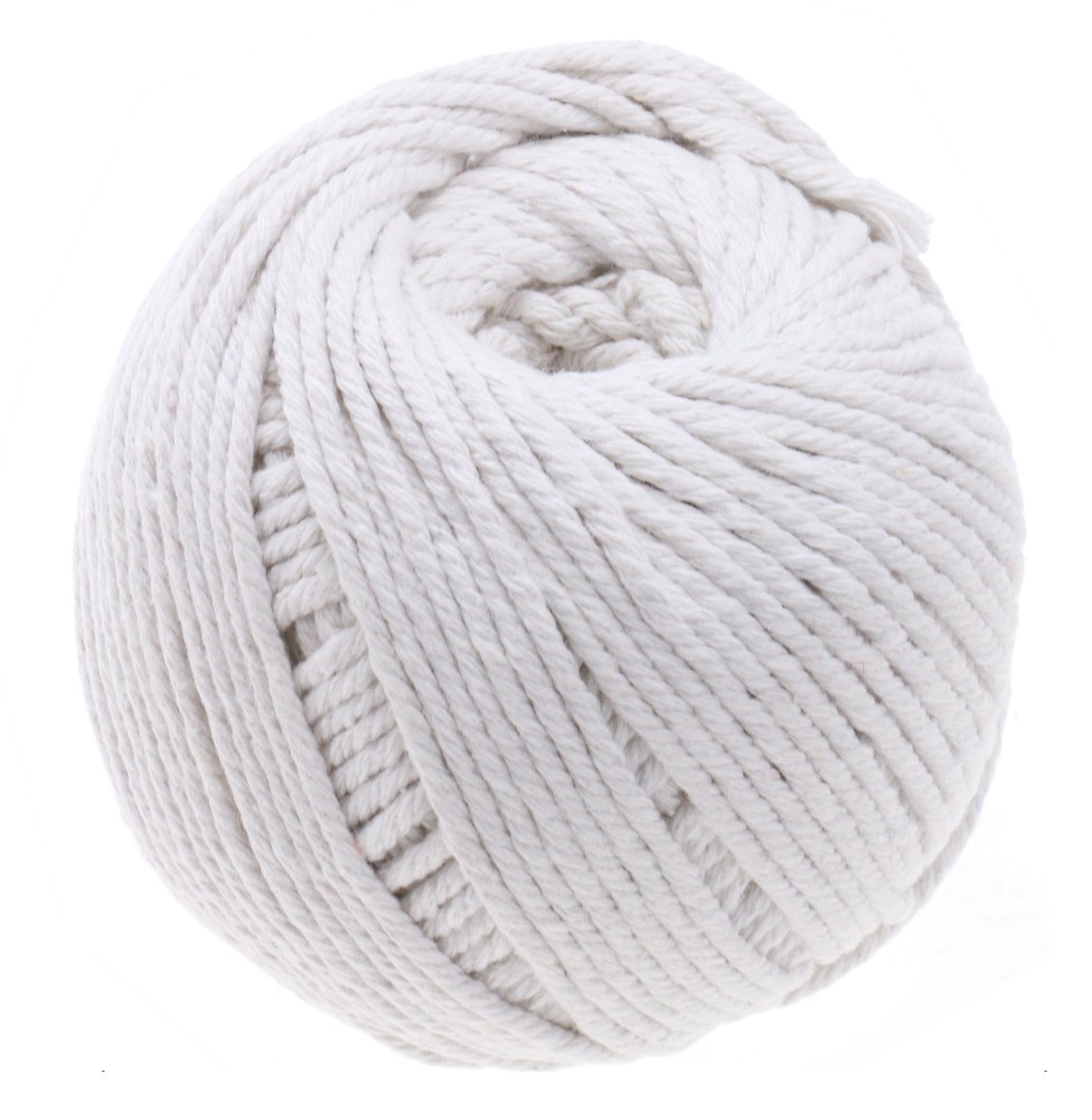 3mm Cotton Macrame Cord 328ft/100m White Macrame Rope Natural Cotton Cord Inxens
