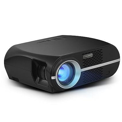 samlike GP100 LCD proyector de vídeo 3200 lúmenes W/1080p Full HD ...