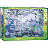EuroGraphics Waterlilies by Claude Monet 1000 Piece Puzzle