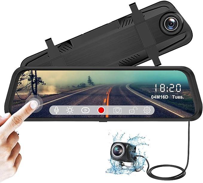 YDI Cámara de Coche FHD 1080P Espejo Retrovisor Dash Cam 10 ...