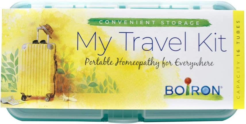 Boiron My Travel Kit case for homeopathic Medicine Storage to Hold boiron Tubes, Empty