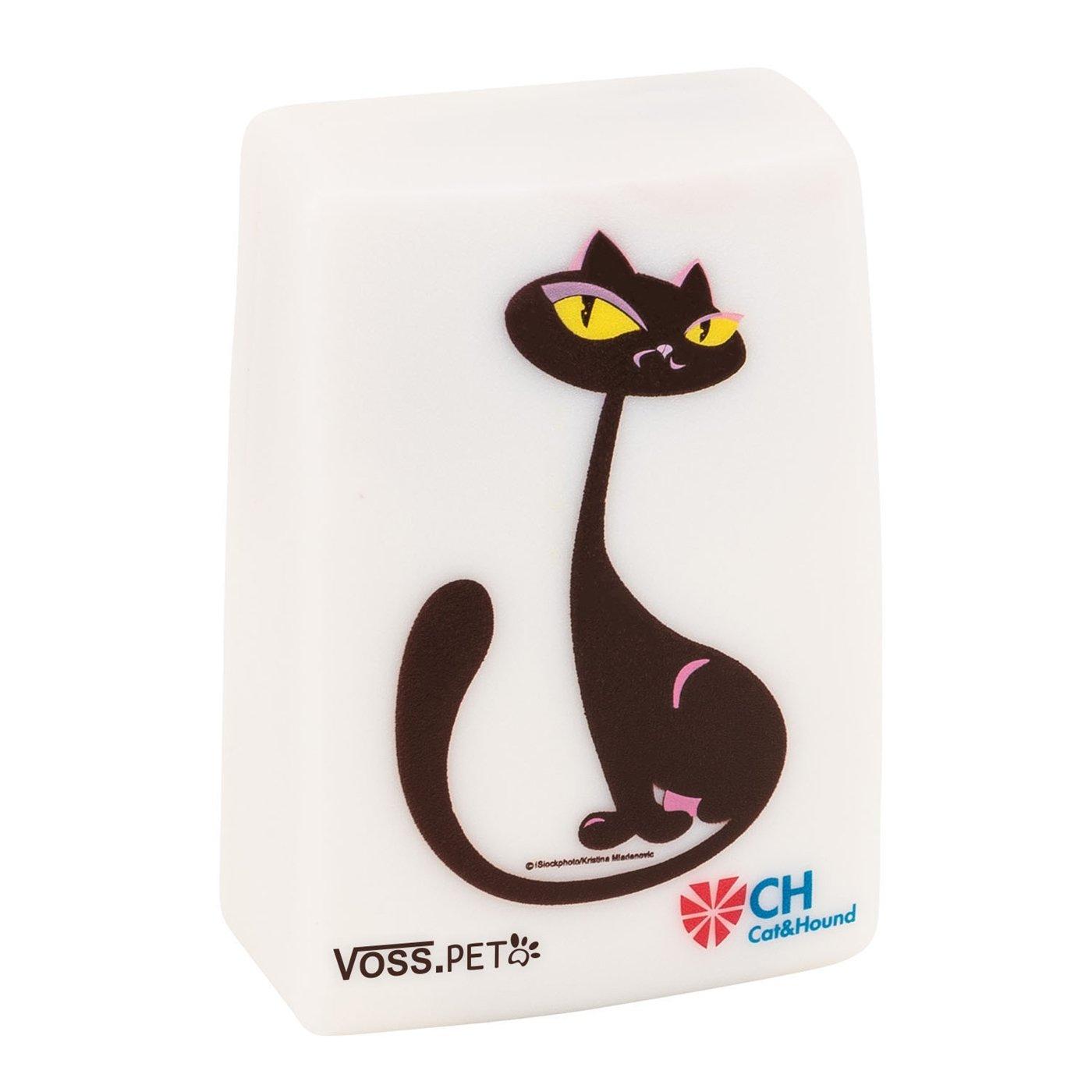 Cat Doorbell – Türklingel für Katzen mit Licht und Tonsignal | Katzenklingel | Alternative für Katzenklappe, Bewegungsmelder, Türsensor Türsensor unbekannt