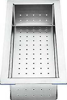 blanco 224789 abtropfschale edelstahl resteschale spüle spülbecken ... - Spülbecken Küche Edelstahl
