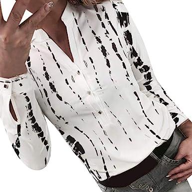Berimaterry Camisas Mujer Manga Larga Camisa Manga Larga Mujer Camisas Mujer Blancas Negra Camisas Mujer Fiesta Elegantes Blusa Mujer Manga Larga Elegante Camiseta Mujer Blusas Mujer Elegantes: Amazon.es: Ropa y accesorios