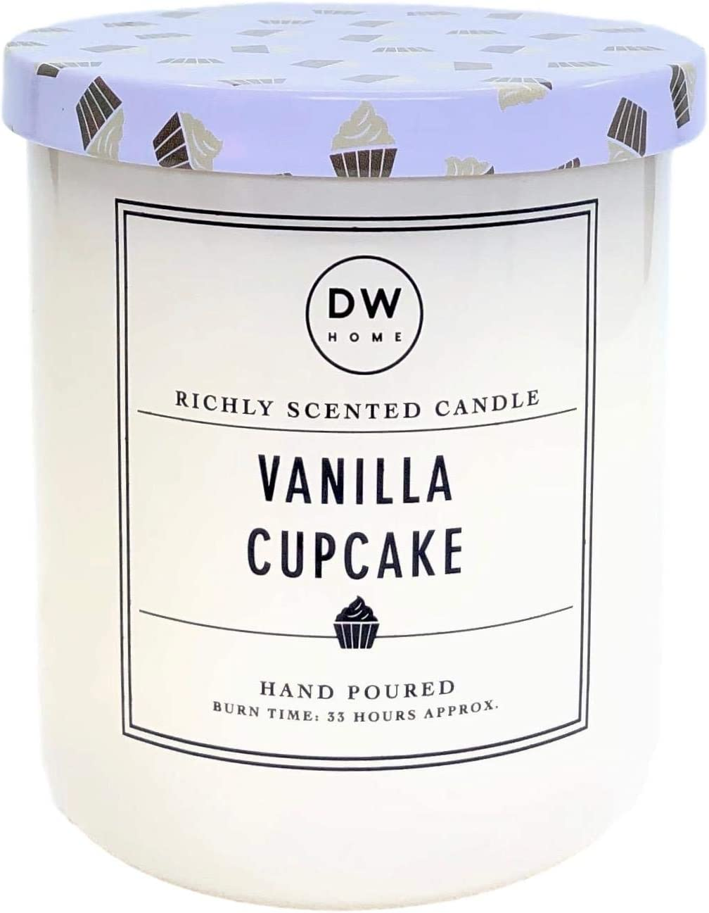 DW Home Vanilla Cupcake Scented Candle