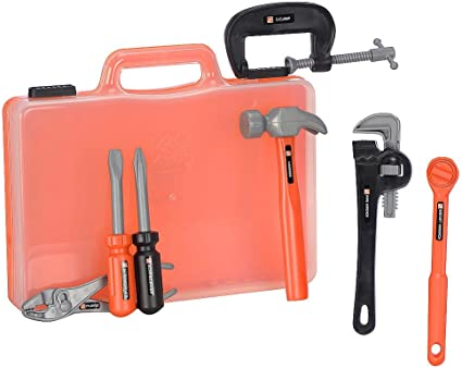 Amazon Com Home Depot Handy Tools In Carry Case Toys Games