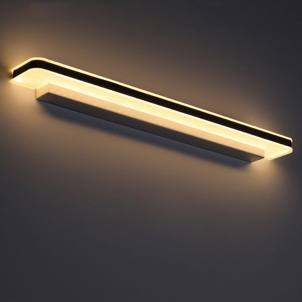 badezimmerlampe Spiegel Scheinwerfer, Badezimmer, Bad, WC, Schminktisch, modern, einfach, wasserdicht, Nebel, Wandlampe (Farbe   Warmes Licht-12W 50CM)