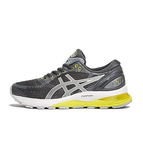 asics gel nimbus womens walking shoes grey