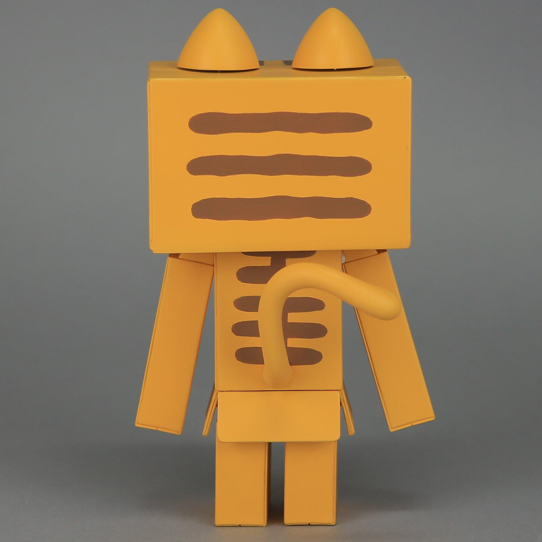 Union Creative Toy Box Sofubi Nyanboard Tora Soft Vinyl Figure
