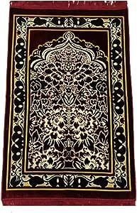 Soft velvet prayer rug