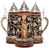 12 Days of Christmas LE German Beer Stein .75L One Mug Handcrafted in Germany