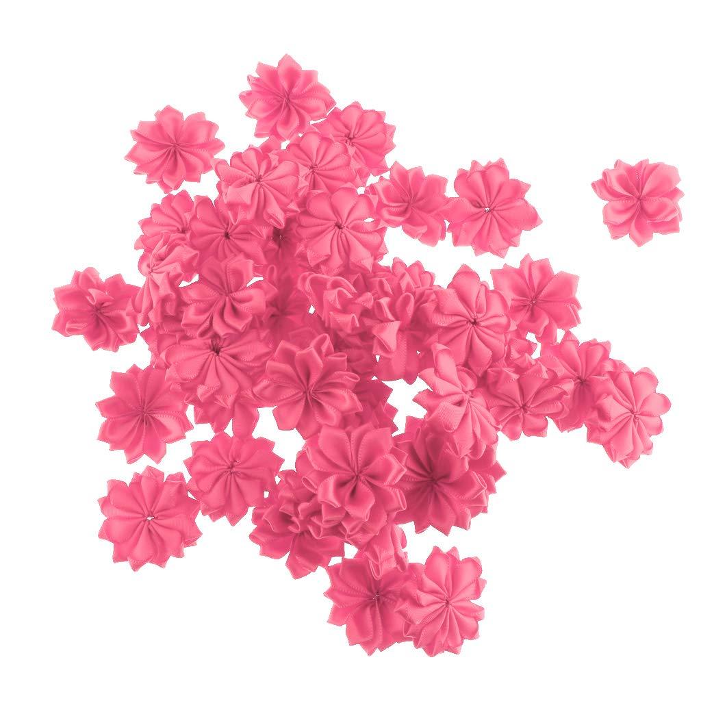 Ipotch 50 Teilig Kunstblumen Set Stoffblumen Blutenkopfe Kunstliche