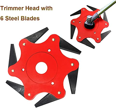 Amazon.com: TCBWFY Cortador de cabeza de 6 cuchillas de ...