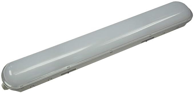 KHL - Lámpara LED para techo (para entornos húmedos, IP65 ...