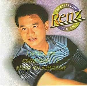 Renz Verano's Greatest Hits - Philippine Music CD