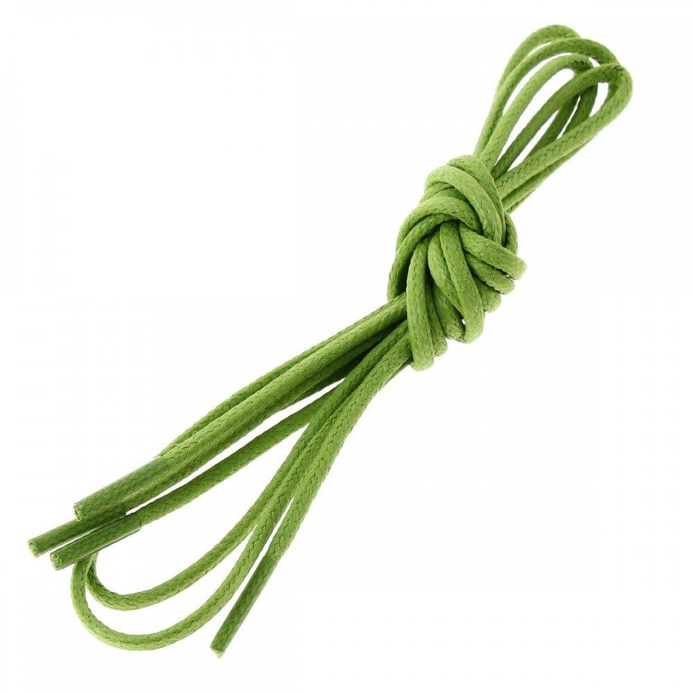 Les Lacets Fran? Ais Lacets Tour, Coton Ciré, Vert, Vert (vert), 70cm, Verser 4-5 Oeillets