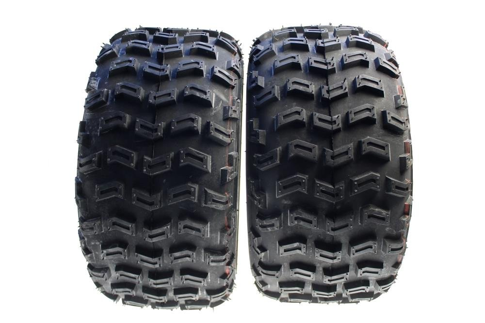 Citomerx - Lote de 2 ruedas para quad traseras, 20 x 10.00-9 para Yamaha YFZ 450 R YFM 700 R YFM 660 R, Suzuki LTZ400 LTR 450, Kawasaki KFX 450 R: ...