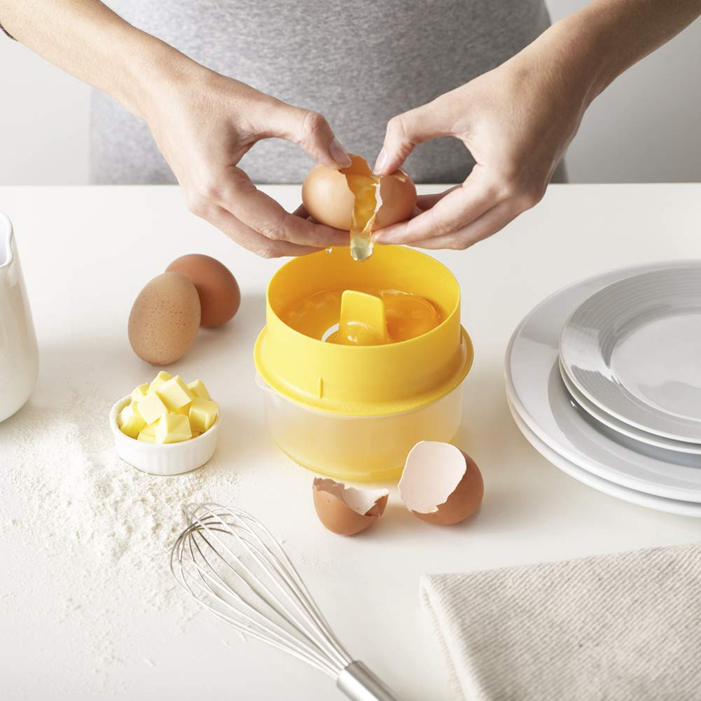 SELUXU Egg White Yolk Filter Separator Practical Egg Divider With Collecting Kitchen Gadget