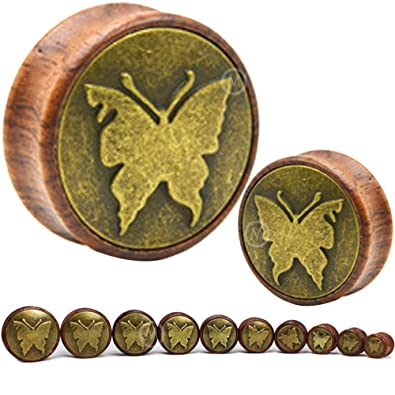Amazon.com: Par 1/2 (12 mm) a 1 3/16 (30 mm) mariposa ...
