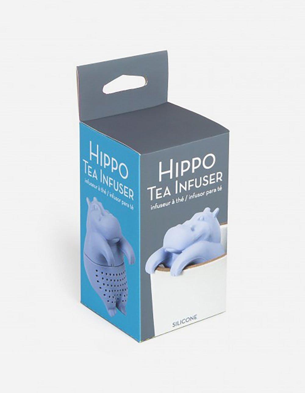 GAMAGO Hippo Tea Infuser Purple
