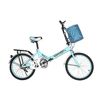 BIKESJN Bicicleta Plegable Bicicleta de Carretera Bicicleta ...