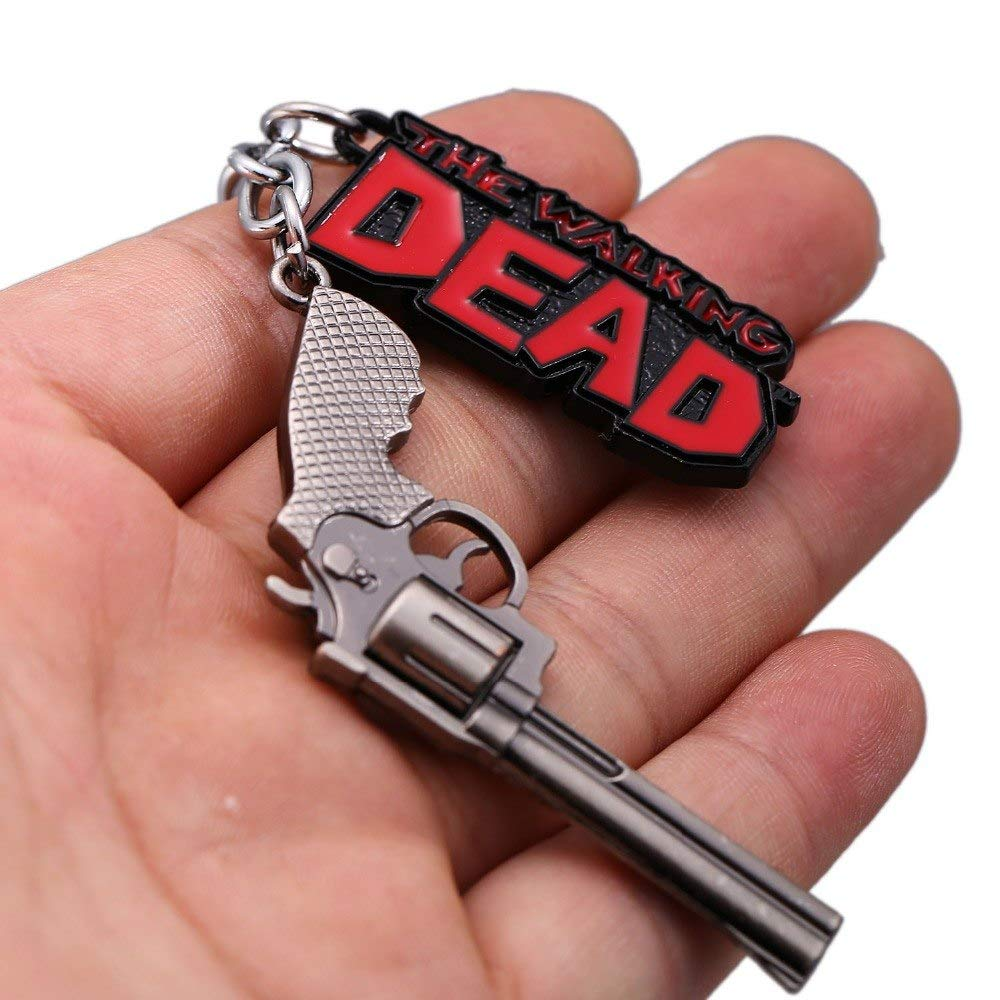 Amazon.com: Mct12-12pcs/lot The Walking Dead Keychain Rick ...