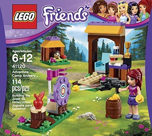 Friends Lego 114 Pcs Adventure Camp Archery Brick Box Building Toys