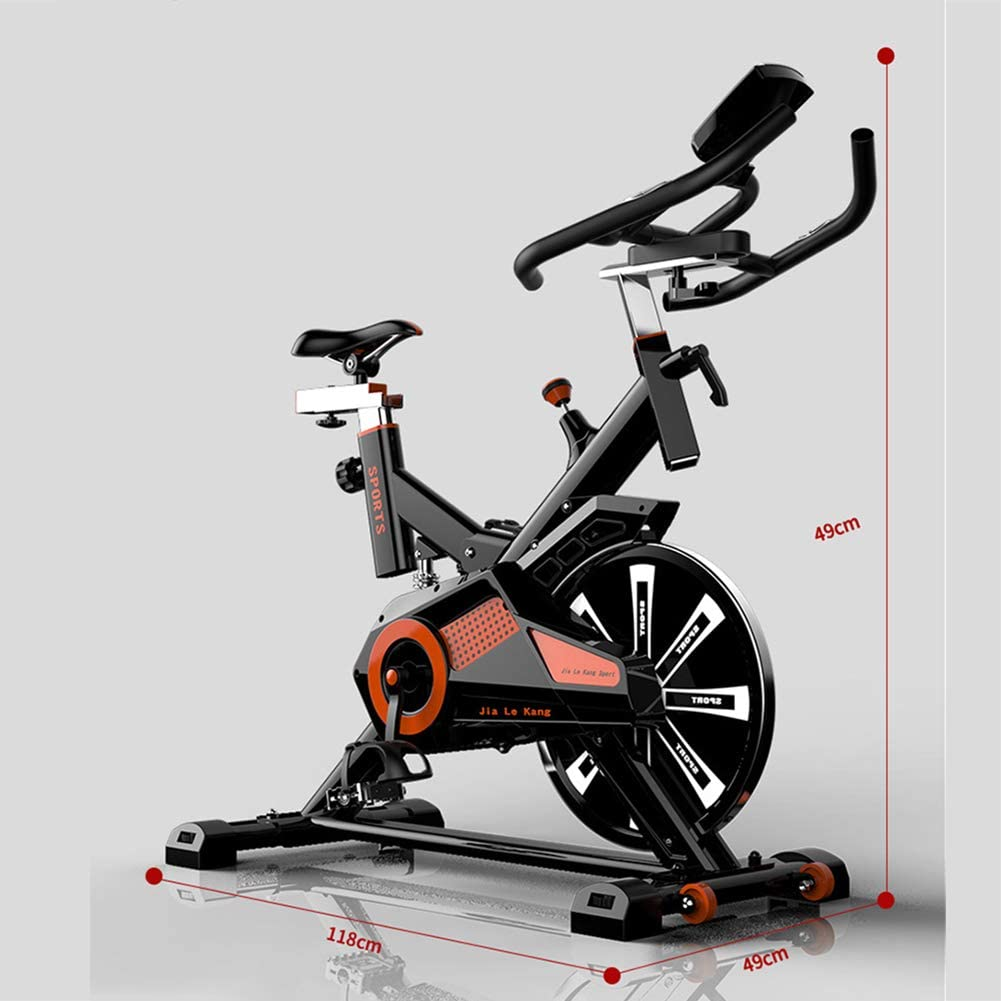Professional Exercise Bike,Indoor Silent Fitness Equipment,Fitness ...