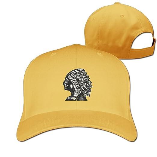 4412f5fb HHNYL The Indians Baseball Cap Dad Hat Peaked Flat Trucker Hats Adjustable  for Men/Women at Amazon Men's Clothing store: