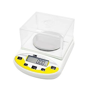 CGOLDENWALL Balanza de Precisión Eléctrica 300g, 0.01g Báscula ...