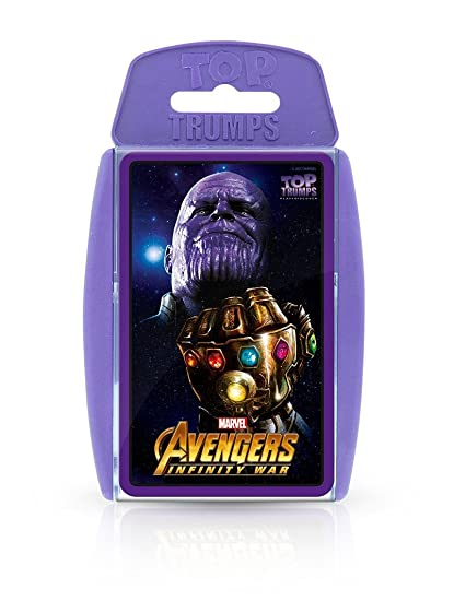 Amazon.com: Top Trumps Marvel Avengers Infinity War Card ...