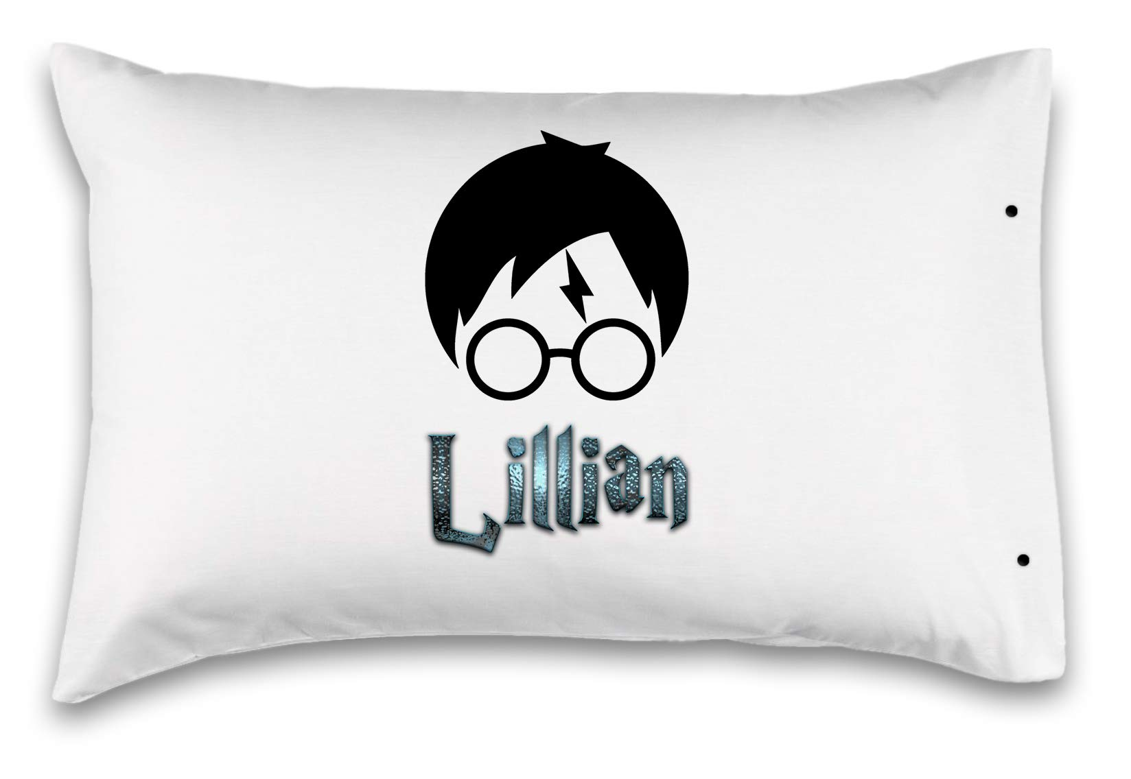 Kids Decorative Pillowcase,''Harry Potter''. Customized With Your Child's Name! - Perfect Custom Gift For Children Of All Ages! 100% Super Soft Microfiber! (Standard 20''X30'')