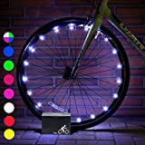 DMbaby Outdoor Toys for 3-12 Year Old Boys Girls, Water Resistant LED Bike Wheel Spoke Light Outdoor Cool Popular Gifts for 3-12 Year Old Boys Girls 2018 DMUKBL06
