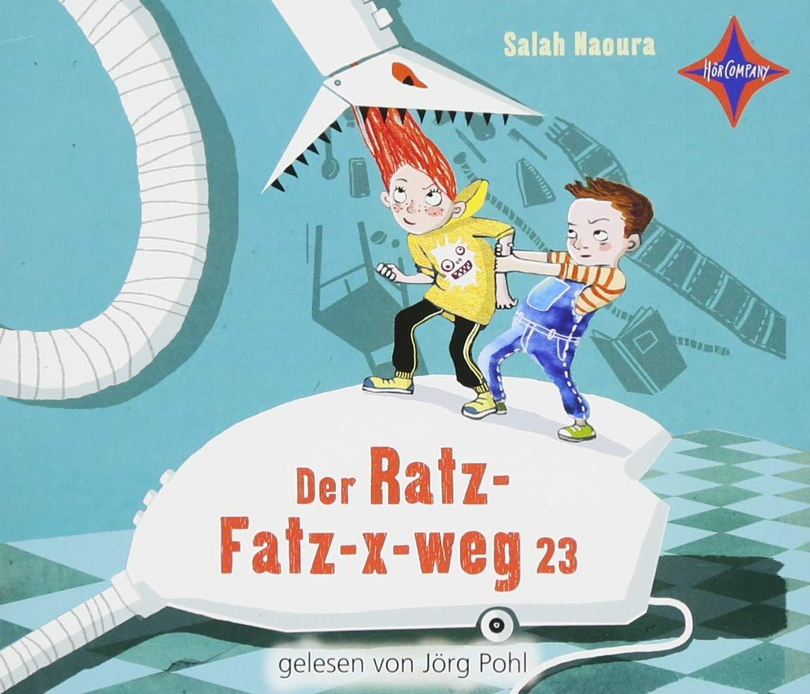 Der Ratz-Fatz-x-weg 23: Gelesen von Jörg Pohl. 3 CDs. Laufzeit ca. 4 ...