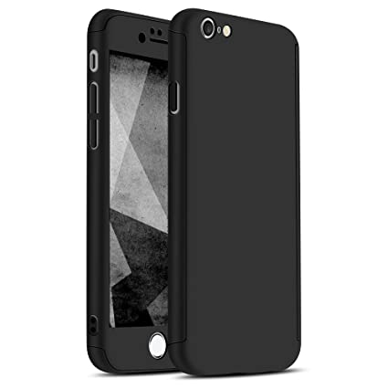 iPhone 6 Plus / 6s Plus Case, Ultra-thin Hard Hybrid PC 360 All