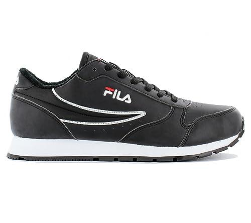 f4903aff02f9 Fila Orbit Low Wmn 1010171.25Y Footwear Black Womens Trainers Sneaker Shoes  Size  EU 37