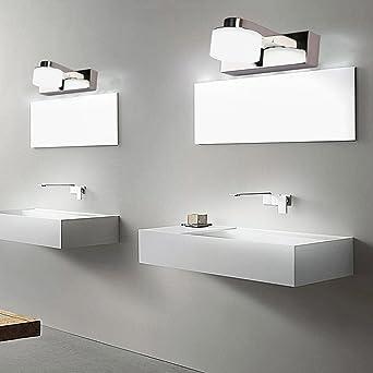 3W LED Spiegelleuchte Kaltweiß Badleuchte mit 1 Rund lights für ...