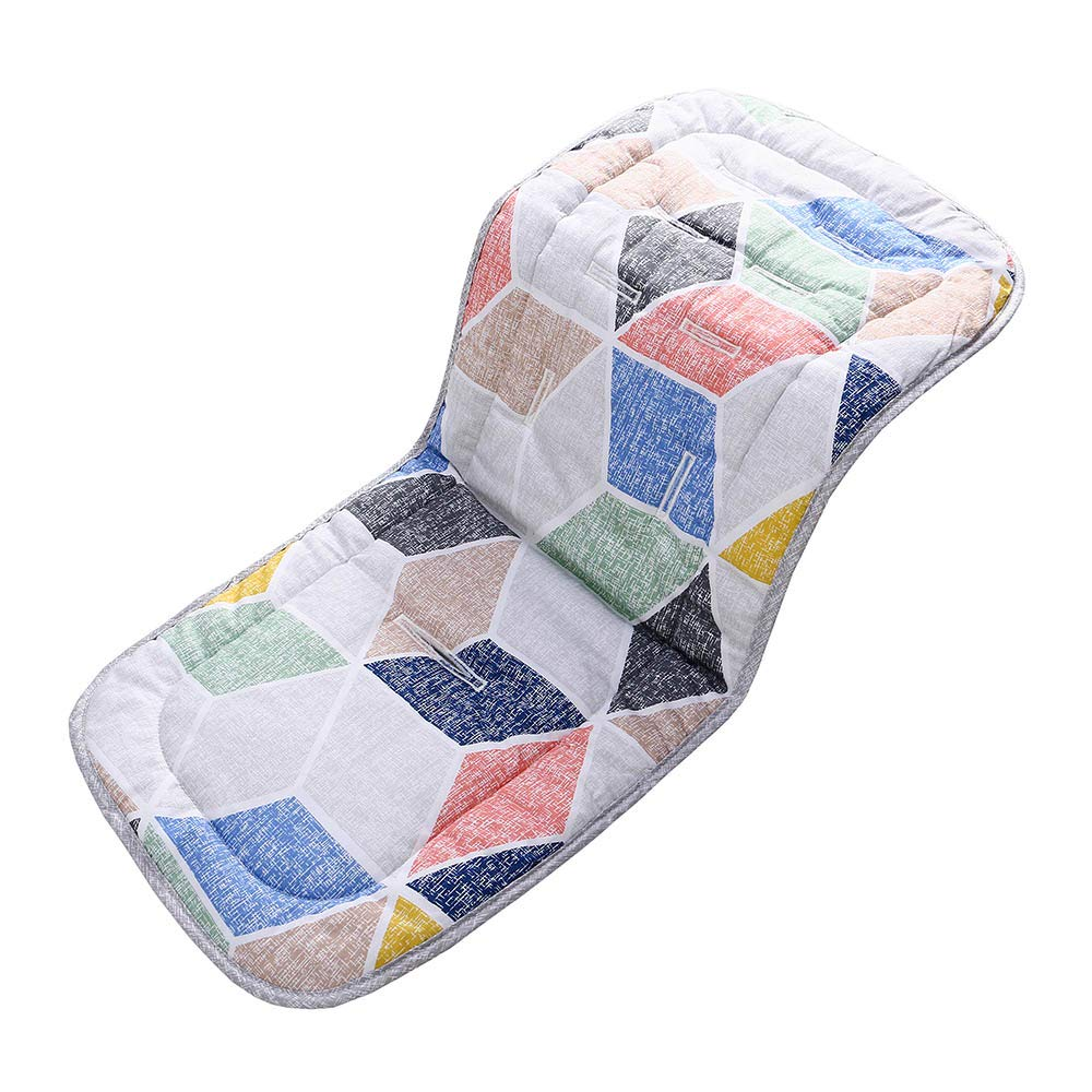 SELLBINDING Baby Seat Liner,Baby Car Stroller Super Light Breathable Seat Pad Cotton Cushion Double Sides Use by SELLBINDING