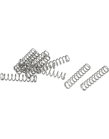 sourcing map Isolation Tresse Manchon 16.4Ft-5mm Haut TEMP Silicone Fibre de verre Manchon Blanc