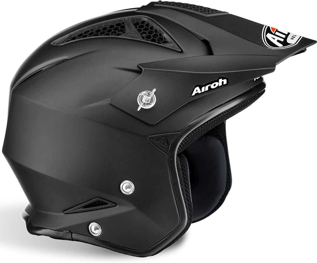 Color Black MATT Airoh Unisexs TRR S Helmet S