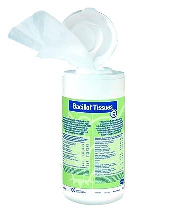 Toallitas Desinfectantes De Bacillol Tejidos Bote con 100 Toallas