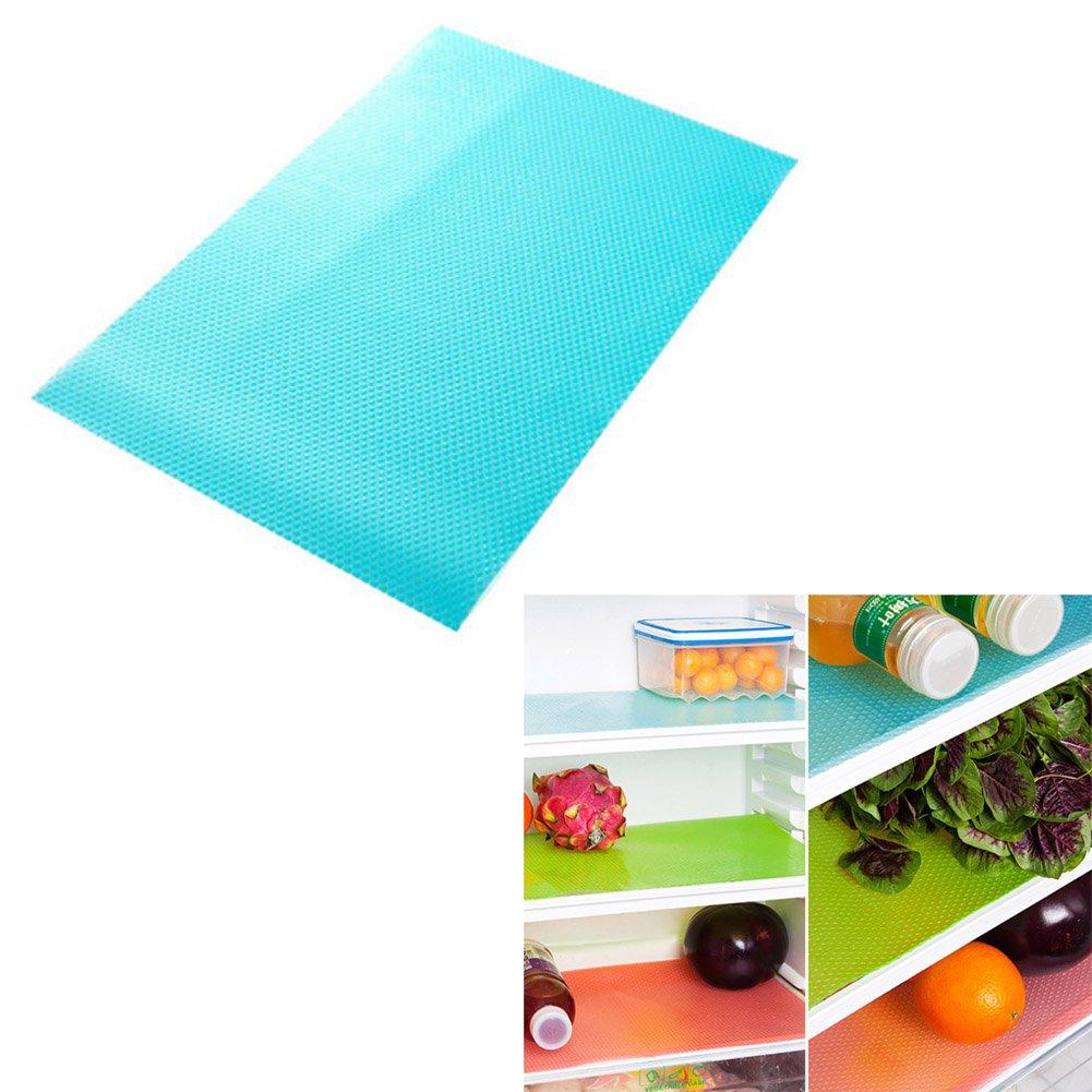 4Stk Kühlschrankmatte Pad Antibakteriell Antischimmelmatte Anti-fäule Kissen Pad