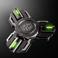 HBBOOI Fidget Spinners la luz llevada de la