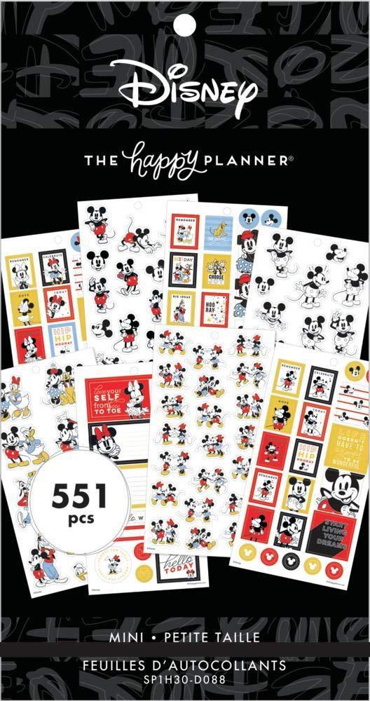 Disney Value Pack Stickers - Mickey & Friends Mini