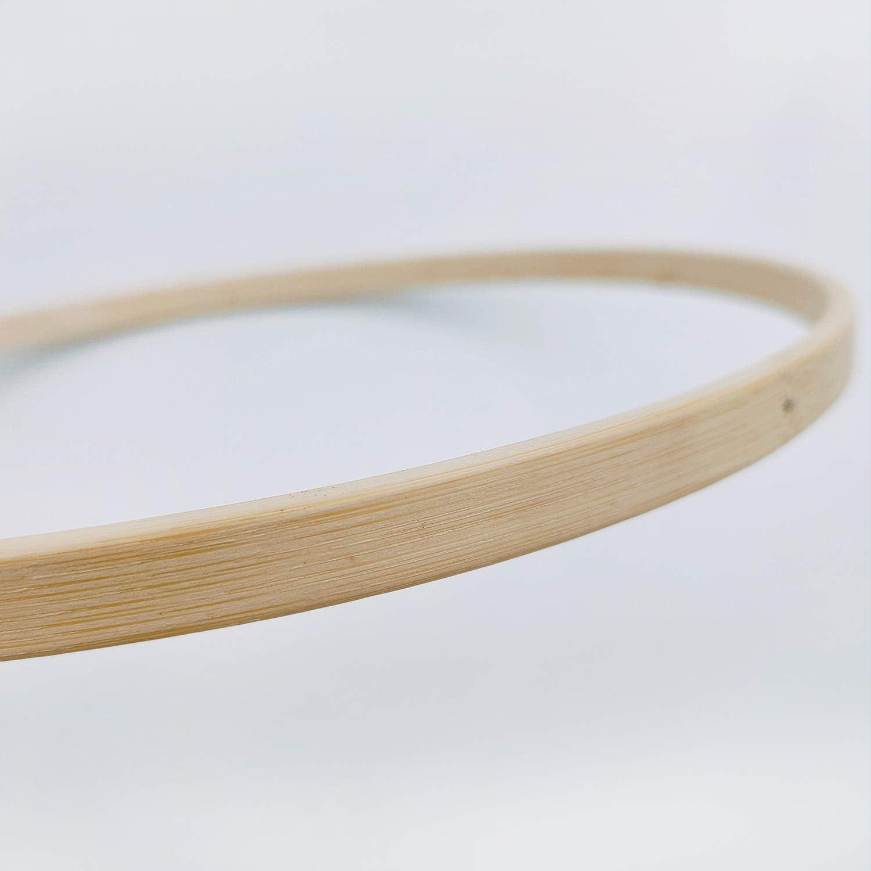 witgift DIY Handgemacht Holzmobile Windspiel Bettglocke Glocke Zimmer,Nat/ürliche Handwerk Holz Ringe Beads Baby Mobile Kit f/ür Kinderzimmer Dekor
