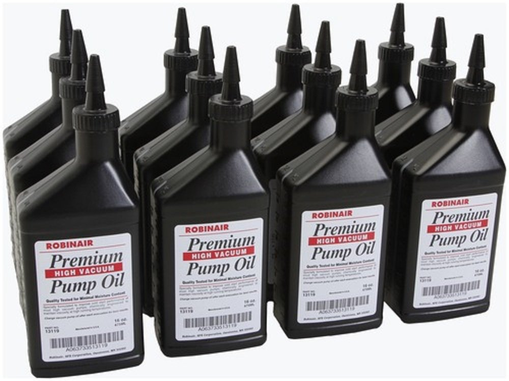 13119 Robinair Vacuum Pump Oil Case of 12/16oz Bottle
