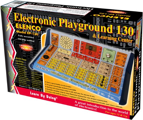 (Elenco  130-in-1 Electronic Playground and Learning Center)