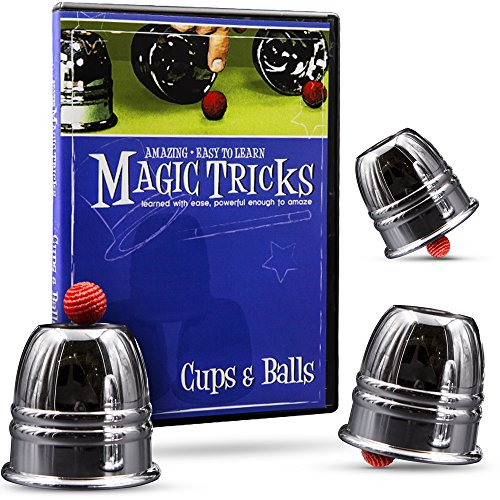 Price comparison product image Magic Tricks You Can Master Cups and Balls Combo by Magic Makers